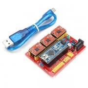 Arduino CNC Shield V4 Expansion Board met Nano A4988