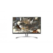 LG 27UK650-W Écran PC 27 '' UHD -3840x2160-Dalle IPS - 5ms (350Cd-sRGB 99% - HDMI 2.0 x 2 DisplayPort 1.2x1)