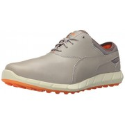 Puma Men s Ignite Spikeless Golf Shoe Drizzle/Vibrant Orange 11.5 D(M) US
