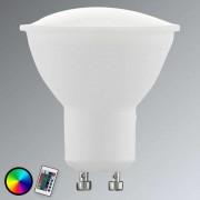 GU10 4W 830 LED reflector RGBW