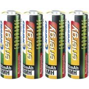 Set 4 acumulatori NiMH, AA, 1,2 V, 2300 mAh, Conrad energy Endurance