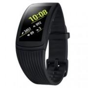 Смарт часовник Samsung Gear Fit2 Pro, извит Super AMOLED дисплей, GPS, Bluetooth, Wi-Fi, водоустойчив, черен
