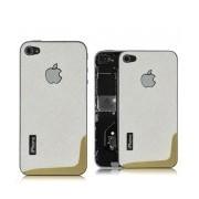 iPhone 4 Bakstycke Crossini (Vit)