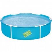 Piscina Bestway pentru Copii cu Strat PVC Cadru Otel Diametru 152cm Capacitate 580L