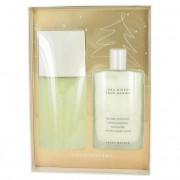 Issey Miyake L'eau D'issey Eau De Toilette Spray 4.2 oz / 124 mL + After Shave Balm 3.4 oz / 100.55 mL Gift Set Fragrance 461438