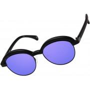 Le Specs Slid Lids zwart lila