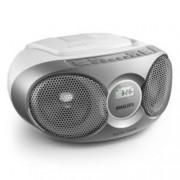 CD радиокасетофон Philips AZ215S, CD, FM, 3W (RMS)