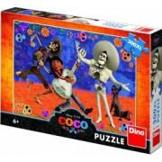 Puzzle XL Dino Toys Coco Visul devine realitate 300 piese Multicolor
