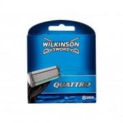 Wilkinson Sword Quattro 8 ks sada náhradných hlavíc pre mužov
