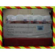 ENSURE PLUS FIB CHOCO 30X220 504200 ENSURE PLUS FIBRE (FIBER) - (220 ML 30 BOTELLA CHOCOLATE )