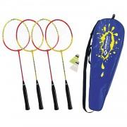 Badminton set schildkröt 4 spelers