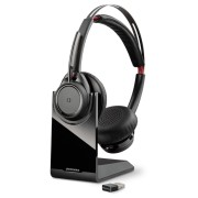 Plantronics Voyager Focus UC + Стойка Стерео Bluetooth Слушалки