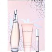 DKNY Liquid Cashmere lote de regalo I. eau de parfum 100 ml + eau de parfum 10 ml + leche corporal 100 ml