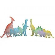 Toy Arena Glow at Dark Radium Amazing Ultimate Fun for Kids Toy 8pcs Dinosaur Figure Gift Toy for Children Kids