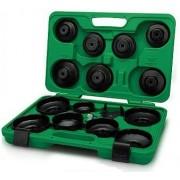 Set 16 chei filtru ulei in cutie plastic diverse dimensiuni