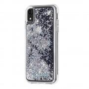 CaseMate Waterfall Case - дизайнерски кейс с висока защита за Apple iPhone XR (бял)