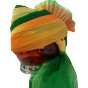 Madhu Shree Safa Sherwani Jodhpuri Men's Green Readymade Turban