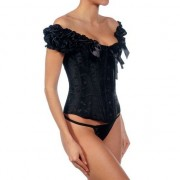 INTIMAX CORSET ANGELES NEGRO XXL