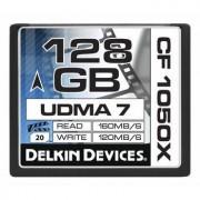 Delkin CompactFlash 128GB 1050X, 160MB/s