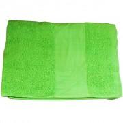 Area Fitness Asciugamano Colore Verde