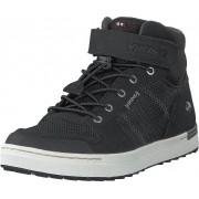 Viking Tonsen Mid Kids Gtx Black/charcoal, Skor, Sneakers & Sportskor, Höga sneakers, Svart, Grå, Barn, 24