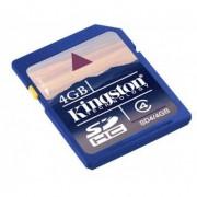 Kingston Karta pamięci KINGSTON SD High Capacity 4GB