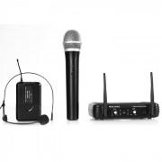 Malone UHF-250 Duo 2-канален комплект с безжичен микрофон (BR4-UHF-250-Duo3)