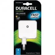 Duracell 2 x 2.4A Dual USB Mains Charger (DRACUSB4W-EU)