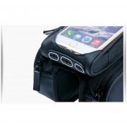 De MTB Bicicletas Soporte Para Teléfono Celular Negro