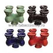 Creuzet ceramic 4 in 1 pentru narghilea