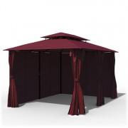 Paramondo Tonnelle autoportante Comfort, 3x4 m, Bordeaux