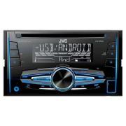 Radio cd player 2din 4x50w kw-r520 jvc