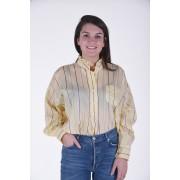 Isabel Marant blouse Olena lichtgeel