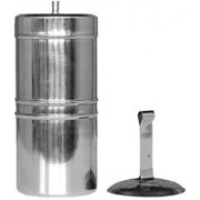VGS MARKETINGS Stainless Steel South Indian Filter Coffee Decotion Maker Coffee Filter 100ml Gift Premium Qlty South Indian Filter Coffee Drip maker Indian Coffee Filter(100 ml)