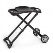 Klarstein Parforce Stand, маса за грил, аксесоари, PE колела, сгъваема, черна (GQY5-Parforce Stand)