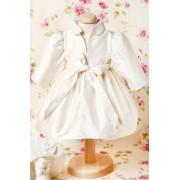 Palton de botez Ivory