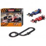 Carrera Set di Macchinine da Corsa Go Win It Rosso e Blu 62392