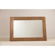 Devonshire Rustic Oak Wall Mirror 130 x 90