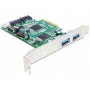 PCI Express kártya>2xkülső USB3, 2 x SATA