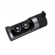 NILLKIN Mini Bluetooth Earphone Wireless Headset HiFi HD Sound Headphones with Charging Bin - Grey