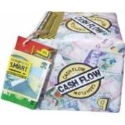 Pusculita Noua Cash Flow cutie decorativa carton multicolor lucrata manual 12x12x12cm