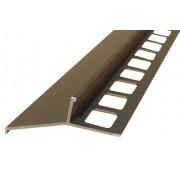 Profil aluminiowy balkonowy 44mm 2,5m - okapnik anodowany oliwka