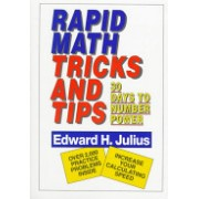 Rapid Math Tricks and Tips - Thirty Days to Number Power (Julius Edward H.)(Paperback) (9780471575634)