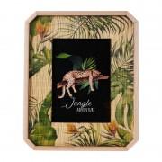Xenos Fotolijst jungle met bamboe frame - 13x18 cm