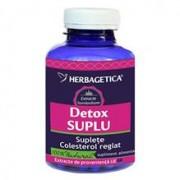 Detox Suplu Herbagetica 120cps