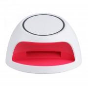 EH Portátil 3 LED Manicura Secado Secador Del Clavo Máquina Para Uñas De Gel Blanca Polaca Y Rojo
