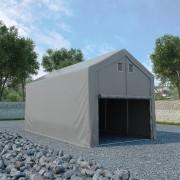 vidaXL szürke PVC tároló sátor 3 x 6 m
