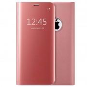 Luxury Mirror View iPhone 7/8/SE (2020) Flip Case - Rose Gold