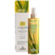 Verattiva Napozó Spray 200 ml, SPF 15, napozáshoz természetes összetevőkkel, vegyszermentes - Specchiasol