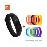 "Xiaomi 0.42 ""OLED Pantalla Táctil Mi Banda 2 Smart Bracelet + 10 Colores 'Reemplazar Banda"